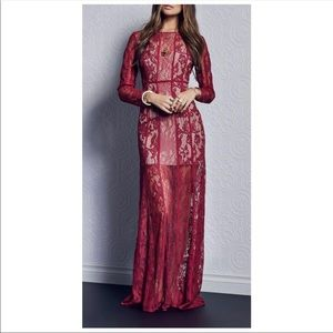 THE JETSET DIARIES Yasmine Lace Maxi Dress